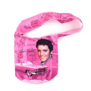 Elvis Pink Cadillac Tote Bag