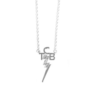 Lowell Hays Sterling Silver TCB Necklace