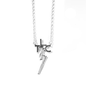 Lowell Hays TLC Sterling Silver Plated Necklace – Original Size