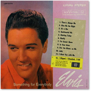 Elvis Something For Everybody FTD CD