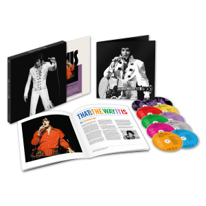 Elvis That's The Way It Is Deluxe Edition CD/DVD Box Set