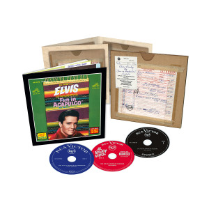 ELVIS - FTD THE FUN IN ACAPULCO SESSIONS (3 CD + BOOK)