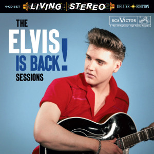 The Elvis Is Back Sessions FTD (4-disc) CD