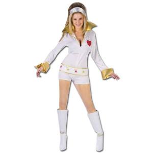 Elvis Ladies Hot Pants Jumpsuit