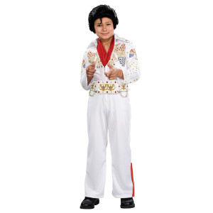 Elvis Youth Jumpsuit Deluxe Costume