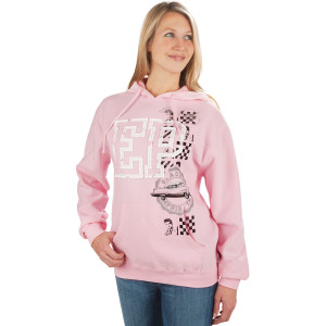 Elvis Classic Car Ladies Hoodie