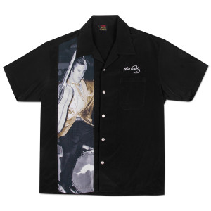 Elvis Stay Gold Button Down Shirt