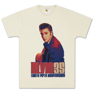 Elvis 35th Anniversary Retro T-Shirt