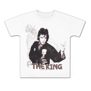Elvis Fighting King Youth T-shirt