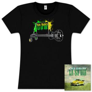 Cas Haely 'La Si Dah' CD + Women's T-Shirt Bundle