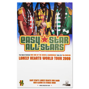 Easy Star's Lonely Hearts Dub Band Poster