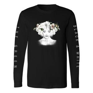 The Green - Unisex Black & White Cover Long Sleeve Shirt