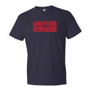 Unified Highway Men's Tee Navy