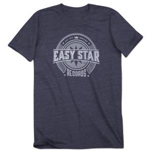 Easy Star Records Circle Logo Navy Tee Shirt