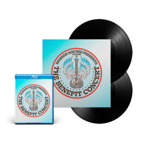 Double Vinyl + Blu-Ray Bundle: The Benefit Concert V. 16