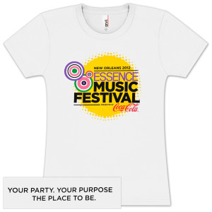 2012 Essence Music Festival Womens T-shirt