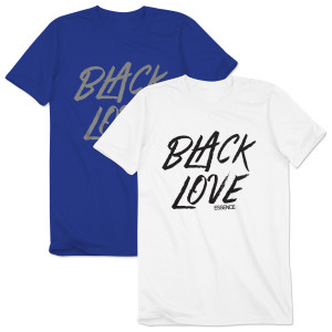 Men's Black Love Tee