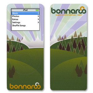 Bonnaroo 2007 Nano iPod Skin