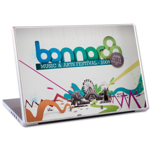 2009 Bonnaroo Mac Laptop Skin