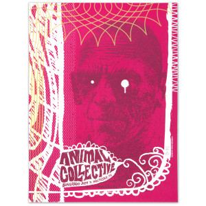 2009 Bonnaroo Animal Collective Poster