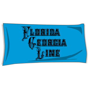 Blue Beach Towel