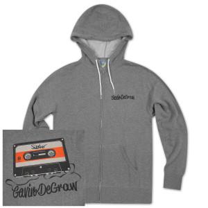 Gavin DeGraw - Sweeter Cassette Zip-Up Hoodie