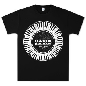 Gavin DeGraw - Circular Keyboard T-Shirt