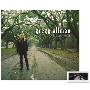 Gregg Allman Low Country Blues CD & Pin Combo