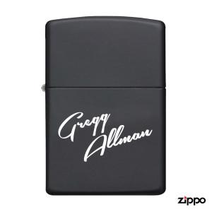"Gregg Allman ""Blues-Flavored"" Zippo Lighter"