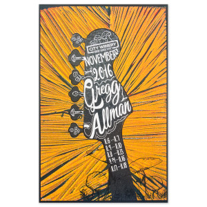 New York City Winery November 2016 Poster