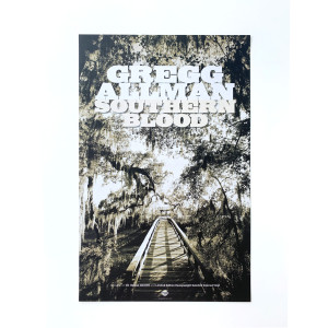 Gregg Allman Southern Blood Poster