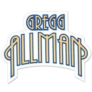Gregg Allman Logo Sticker
