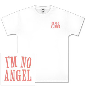 Gregg Allman White I'm No Angel Tee