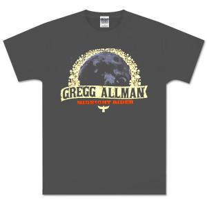Gregg Allman Gray Midnight Rider Tee