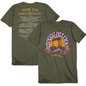 Gregg Allman 2016 Tour Shirt