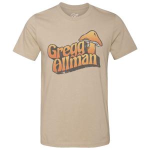 Gregg Allman Mushroom T-Shirt