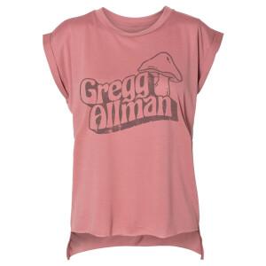 Ladies Gregg Allman Mushroom Muscle T-Shirt