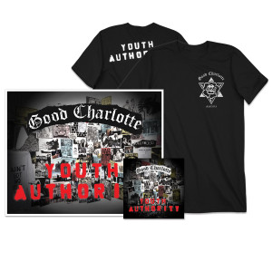 Youth Authority CD + Signed Litho + T-shirt
