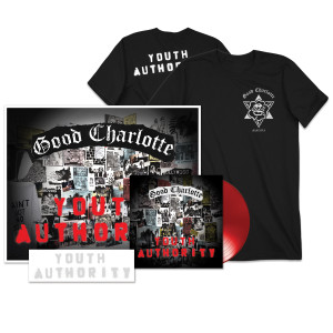 Youtrh Authority LP + Stencil + Signed Litho + T-shirt + Youth Authority MP3 Album