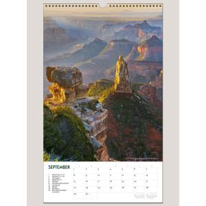 "2019 America's National Parks 12"" x 20"" BIG PICTURE™ CALENDAR"