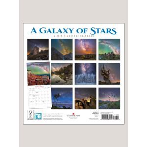 "2019 A Galaxy of Stars 12"" x 12"" WALL CALENDAR"