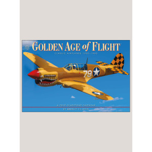 "2019 Golden Age of Flight 12"" x 18"" DELUXE WALL CALENDAR"