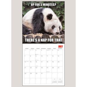 """2019 Panda-Monium 12"""" x 12"""" WALL CALENDAR"""
