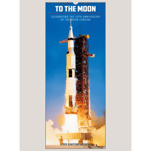 2019 To the Moon: Celebrating the 50th Anniversary of the Moon Landing VERTICAL