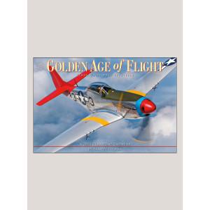 "2020 Golden Age of Flight 18"" x 12"" DELUXE WALL CALENDAR"