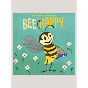 """2021 Bee Happy 12"""" x 12"""" WALL CALENDAR"""
