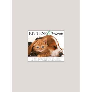 "2021 Kittens & Friends 5.25"" x 4.25"" PAGE PER DAY CALENDAR"