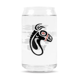 This Mule's For You Beer Can Glass