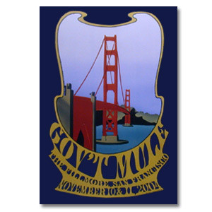 Gov't Mule Nov 2004 Fillmore San Francisco Event Poster