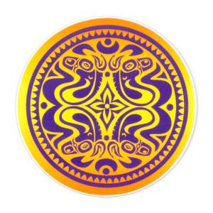 Gov't Mule Purple/Orange Dose Sticker
